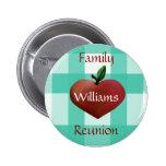 Fun country button pins