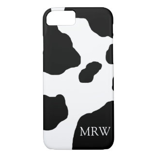 Fun Cow Print Cute Animal Personalized iPhone 8/7 Case