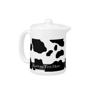 Fun Cow Print Personalized