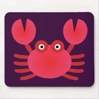 Fun Crab Mouse Pad