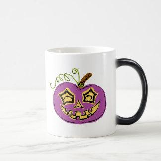 Fun & Creepy Purple Play Pumpkin Magic Mug