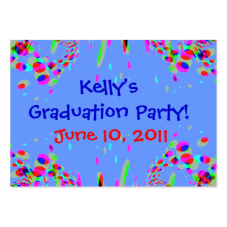 Fun Custom Graduation Party! Card Pack Of Chubby Business Cards