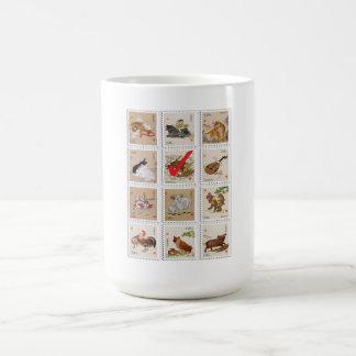 Fun Customizable Choose Your Chinese Zodiac Sign Basic White Mug