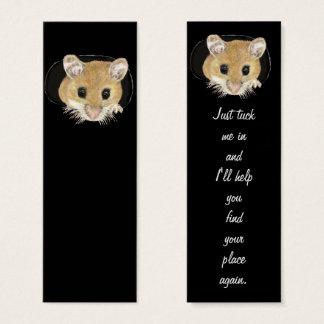 Fun Cute Little Mouse Bookmark Mini Business Card