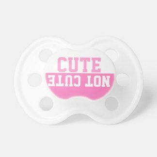 Fun cute not cute text dummy