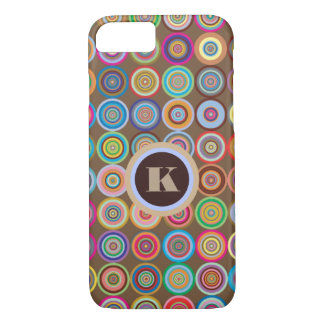 Fun & Decorative Circles iPhone 8/7 Case