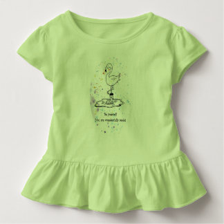 fun design, words celebrating your unique child toddler T-Shirt