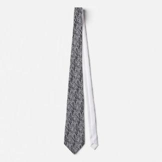 Fun Design Zebra Print Mens' Neck Tie