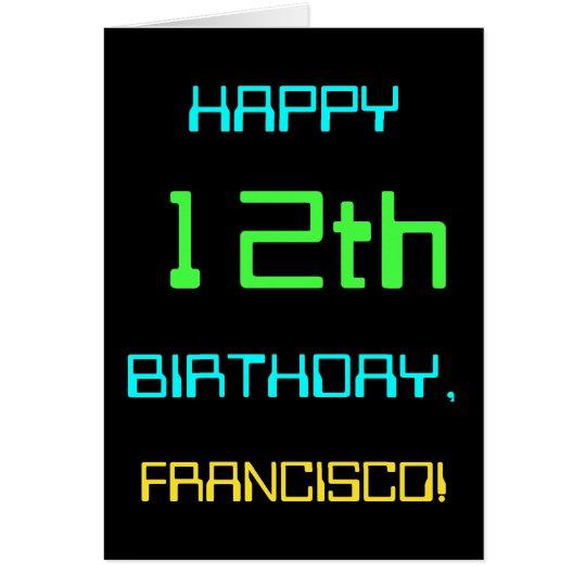 Fun Digital Computing Themed 12th Birthday Card