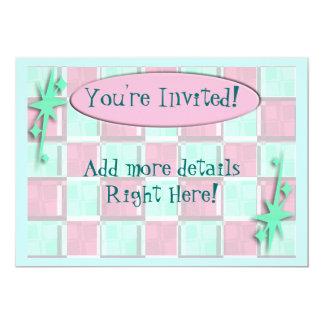 Fun Diner Style 5x7 Paper Invitation Card