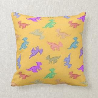 Fun Dino Pattern Cushion