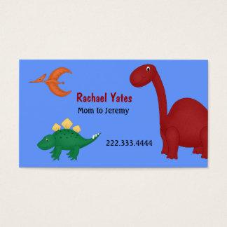Fun Dinosaurs Mommy Card