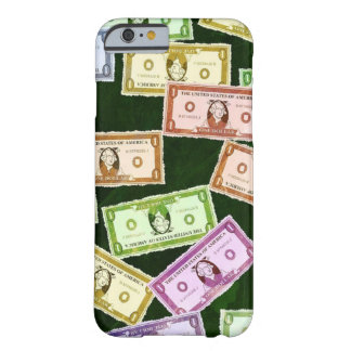 Fun Dollar Bill Money Pattern Barely There iPhone 6 Case
