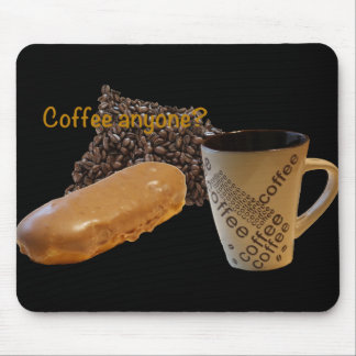 "Fun Donut Mouse Pad ""Coffee anyone"""