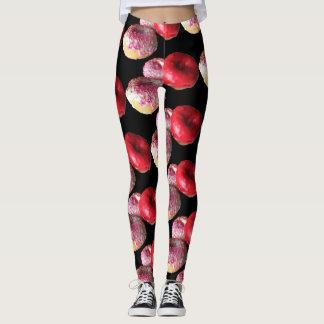 Fun Doughnuts Yoga Pants Stretch Leggings