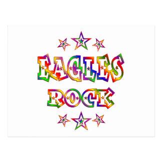 Fun Eagles Rock Postcard