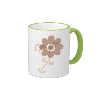 Fun Earthy Flower Coffee Mug