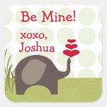 Fun Elephant Love Sticker