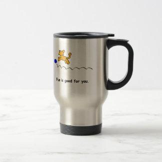 fun, Enjoy The View Stainless Steel Travel Mug