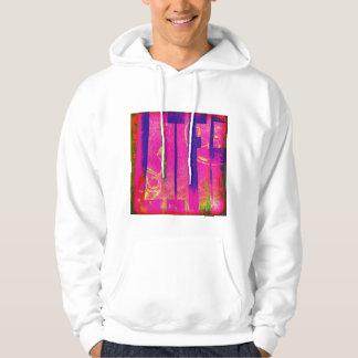 Fun expressive custom work. hoodie