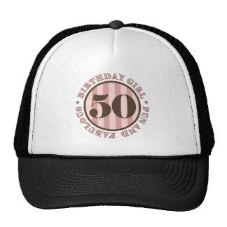 Fun & Fabulous 50th Birthday Gifts Cap