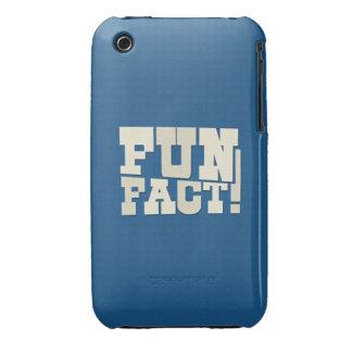 Fun Fact! iPhone 3 Case-Mate Case