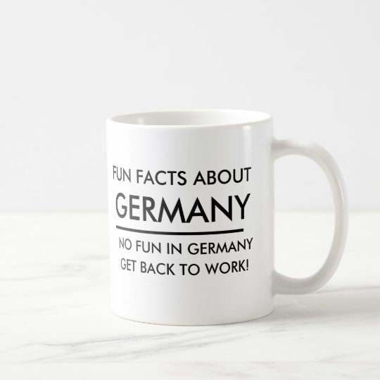FUN FACTS ABOUT GERMANY FUNNY MUG