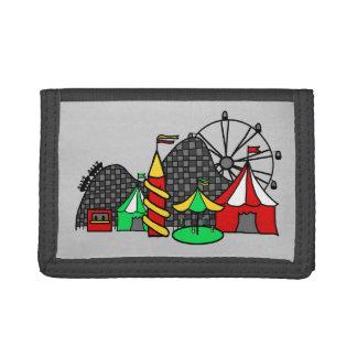 Fun Fair Trifold Wallet