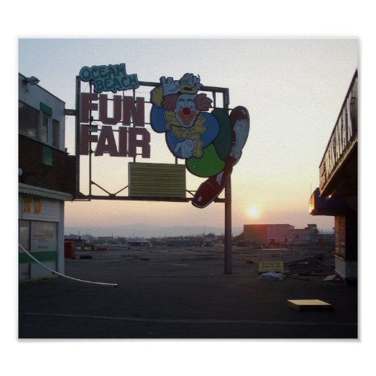 Fun Fair-zazzle Poster