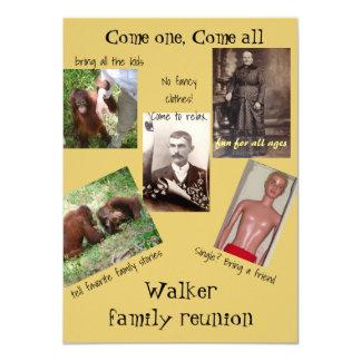 Fun Family Reunion Card