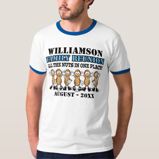 Fun Family Reunion Peanuts  Shirt