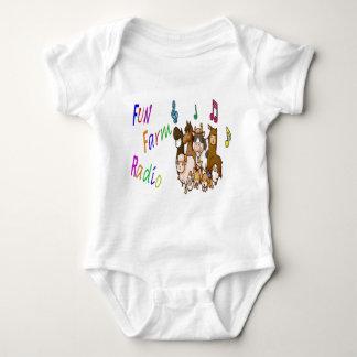 Fun Farm Radio Baby Bodysuit