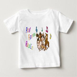 Fun Farm Radio Baby T-Shirt