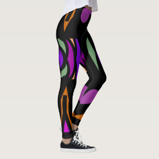 Fun Fashion Leggings-Women-Multicolored Leggings