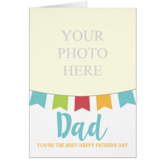 Fun Fathers Day Card Add Your Own Text and Photo