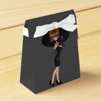 Fun Favorite Diva Birthday Party Party Favour Box