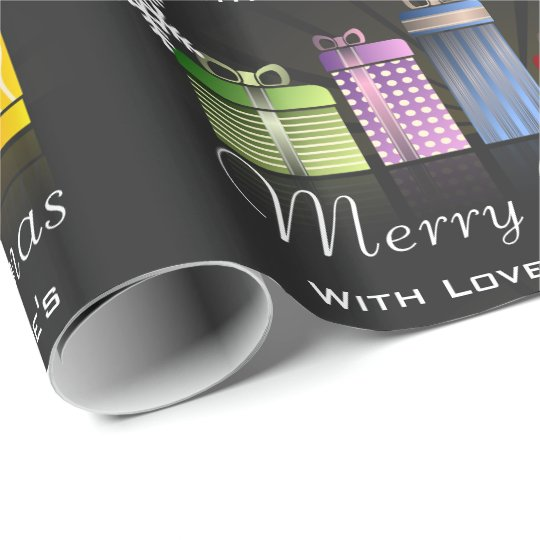 Fun & Festive Personalised Merry Christmas Wrapping Paper
