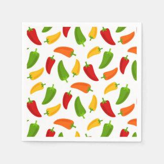 Fun Fiesta pattern pepper party napkins Disposable Napkin