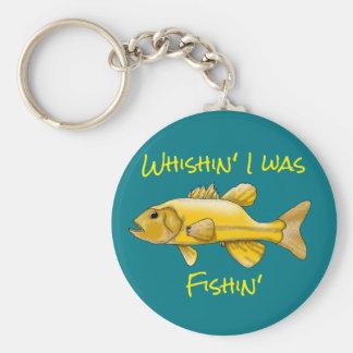 Fun Fishing Keychain