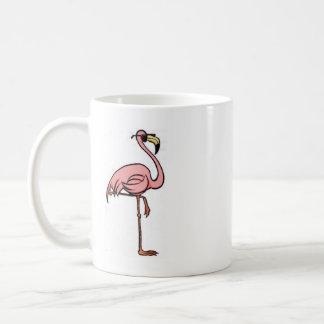 fun flamingo coffee mug