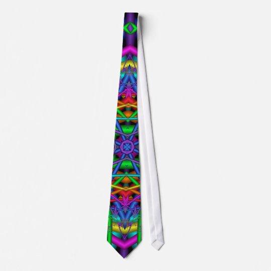 Fun Fractals No2 Neck Tie