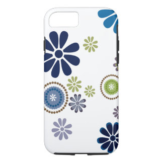 Fun fresh flower designed case in shades of winter