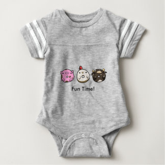 Fun Friends Doughnut Baby Bodysuit
