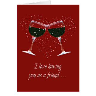 Fun Friendship Wine Lover's Card