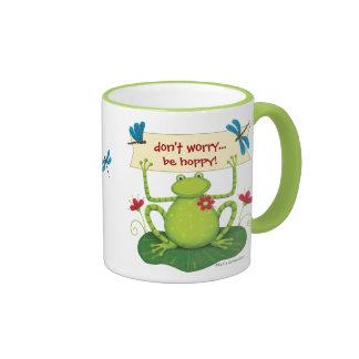 Fun Frog - Don't Worry Be HOPPY - Mug