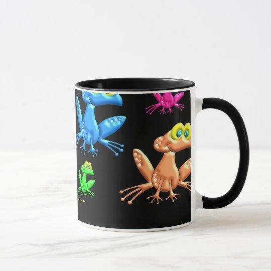 Fun Frogs Mug