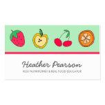 Fun Fruits Business Card