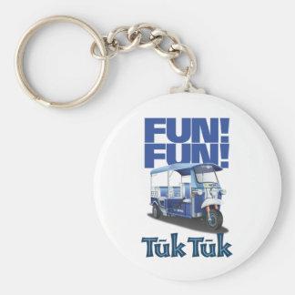 FUN FUN Tuk Tuk Basic Round Button Key Ring