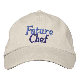 Fun Future Chef Hat Embroidered Cap