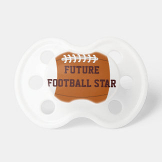 Fun Future Football Star Baby Pacifier